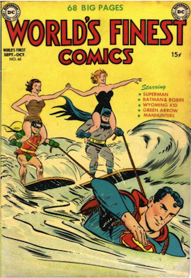 World's Finest Comics #60. Click for values.