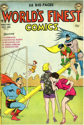 World's Finest Comics #61. Click for values.