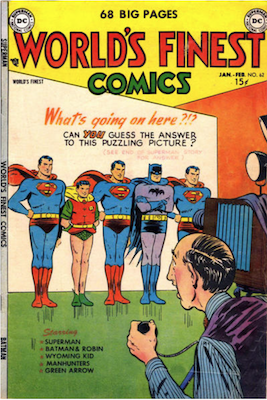 World's Finest Comics #62. Click for values.