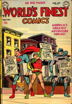 World's Finest Comics #63. Click for values.