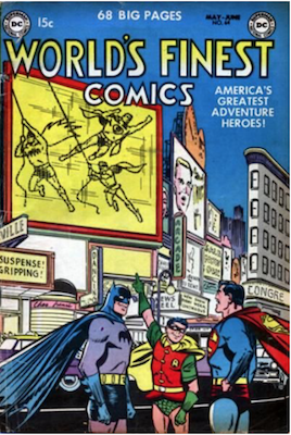 World's Finest Comics #64. Click for values.