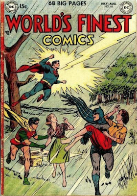 World's Finest Comics #65. Click for values.