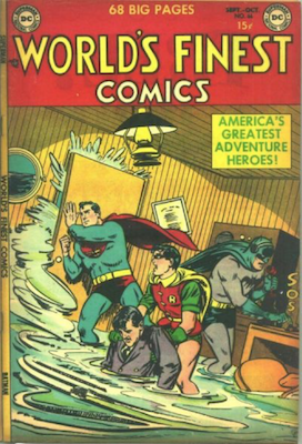 World's Finest Comics #66. Click for values.