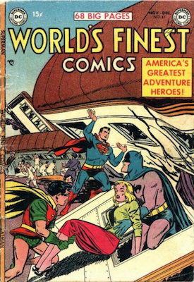 World's Finest Comics #67. Click for values.