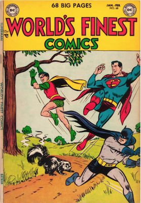World's Finest Comics #68. Click for values.
