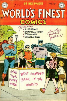 World's Finest Comics #69. Click for values.