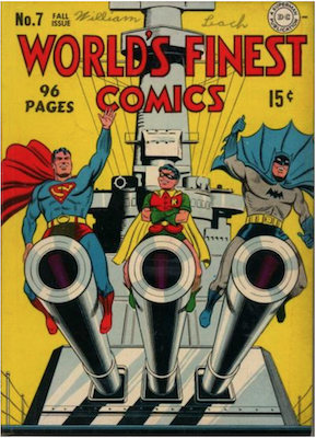 World's Finest Comics #7. Click for values.