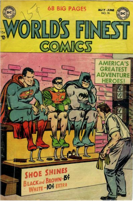 World's Finest Comics #70. Click for values.