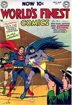 World's Finest Comics #71. Click for values.