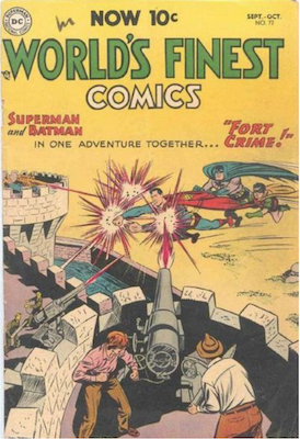 World's Finest Comics #72. Click for values.