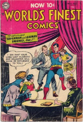 World's Finest Comics #73. Click for values.