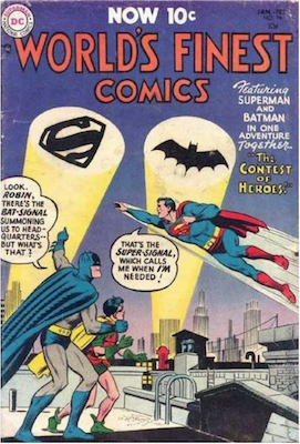 World's Finest Comics #74. Click for values.