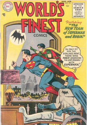 World's Finest Comics #75. Click for values.
