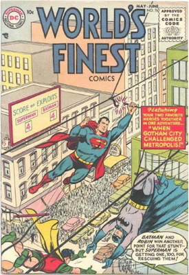 World's Finest Comics #76. Click for values.