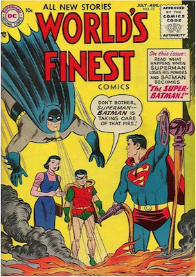 World's Finest Comics #77. Click for values.