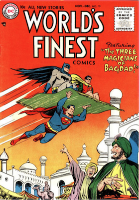 World's Finest Comics #79. Click for values.