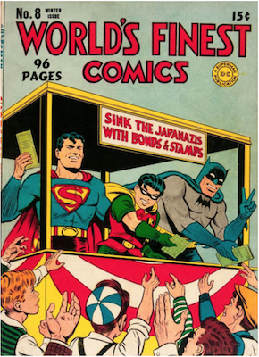 World's Finest Comics #8. Click for values.