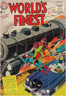 World's Finest Comics #80. Click for values.