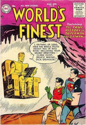 World's Finest Comics #81. Click for values.