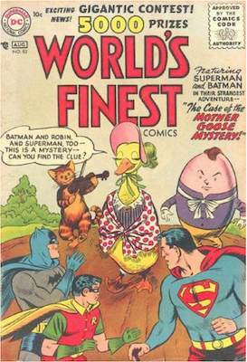World's Finest Comics #83. Click for values.