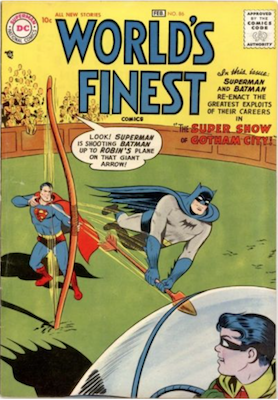 World's Finest Comics #86. Click for values.