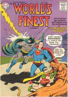 World's Finest Comics #87. Click for values.