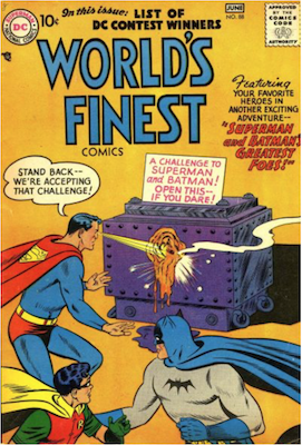 World's Finest Comics #88. Click for values.