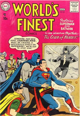 World's Finest Comics #89. Click for values.