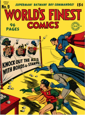World's Finest Comics #9. Click for values.