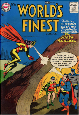World's Finest Comics #90. Click for values.