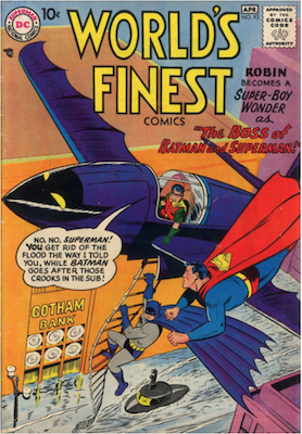 World's Finest Comics #93. Click for values.