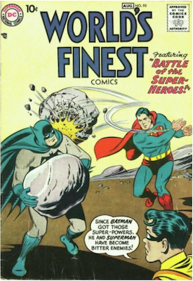 World's Finest Comics #95. Click for values.