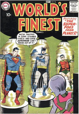 World's Finest Comics #96. Click for values.