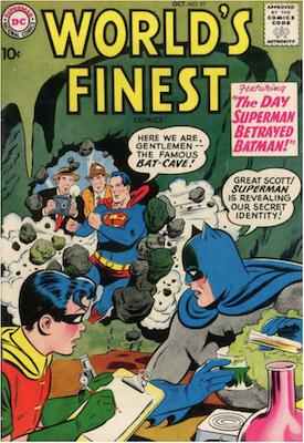 World's Finest Comics #97. Click for values.