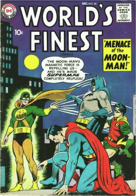 World's Finest Comics #98. Click for values.