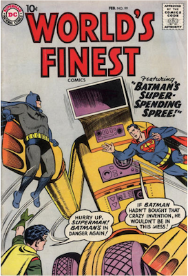 World's Finest Comics #99. Click for values.