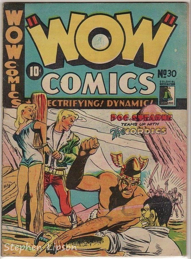 Bell Features WOW Comics #30