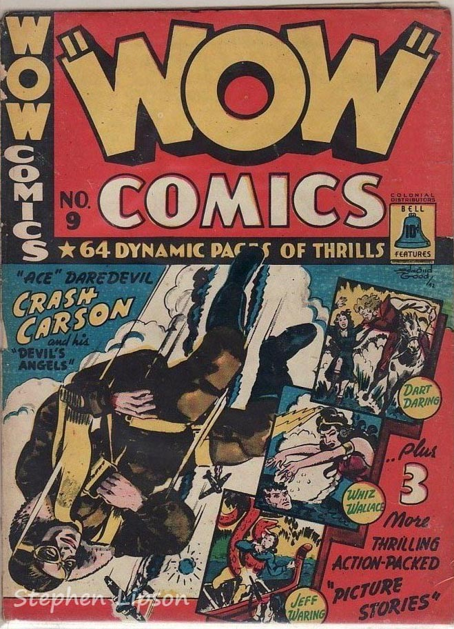 Bell Features WOW Comics #9