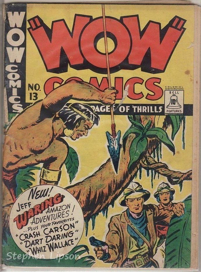 Bell Features WOW Comics #13