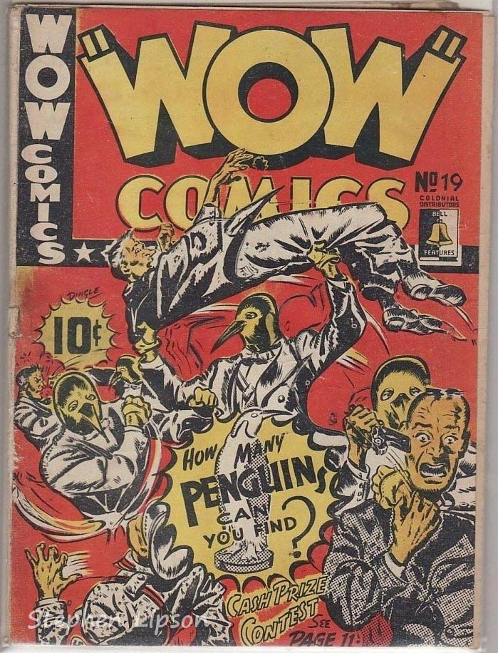 Bell Features WOW Comics #19