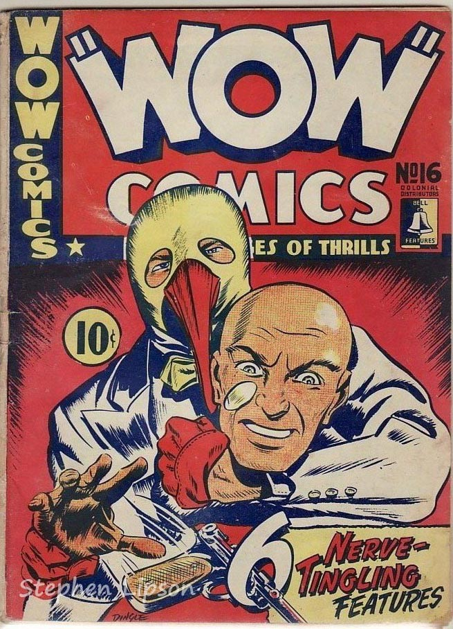 Bell Features WOW Comics #16