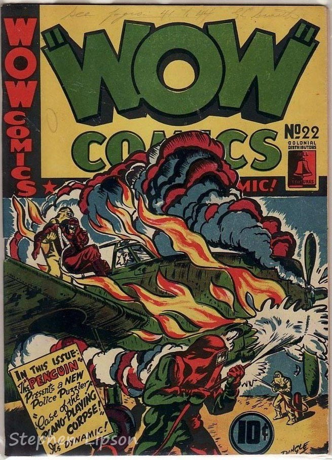 Bell Features WOW Comics #22