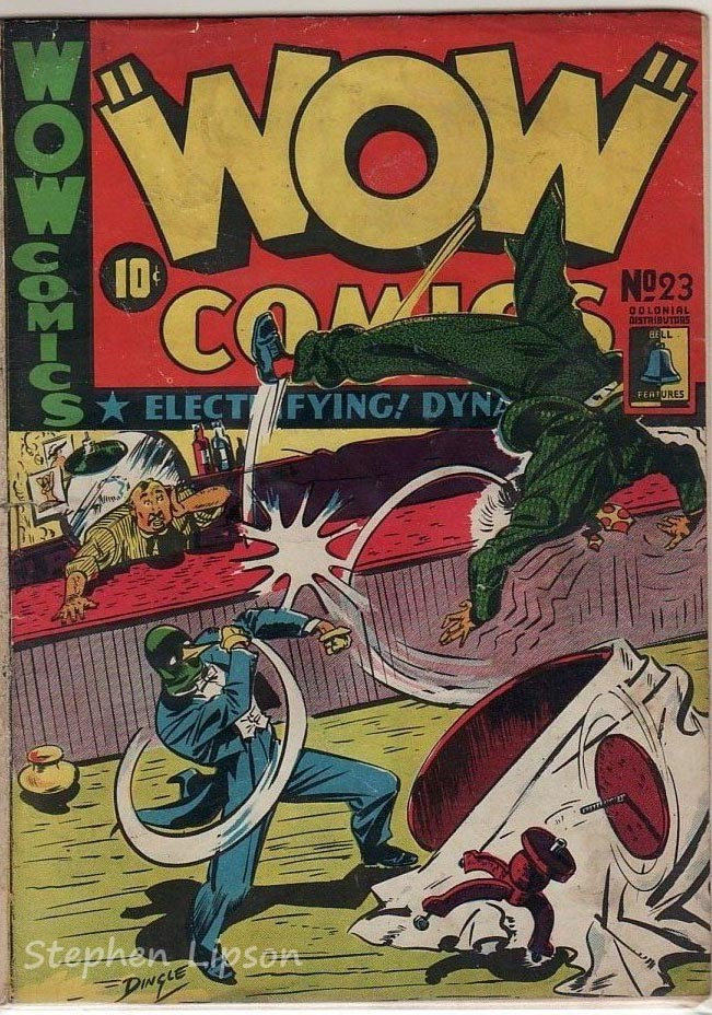 Bell Features WOW Comics #23