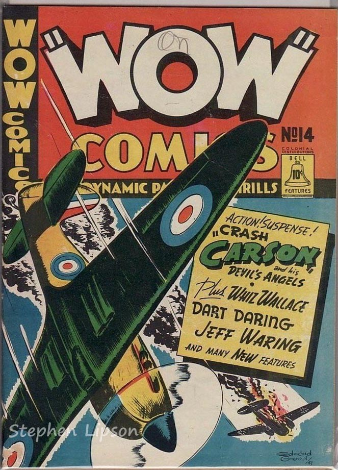Bell Features WOW Comics #14
