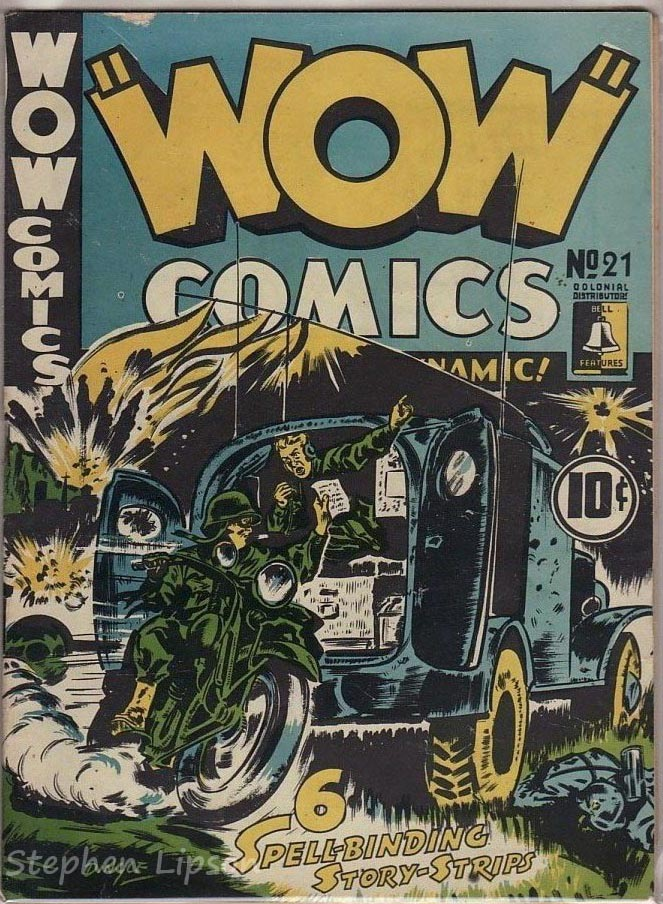 Bell Features WOW Comics #21