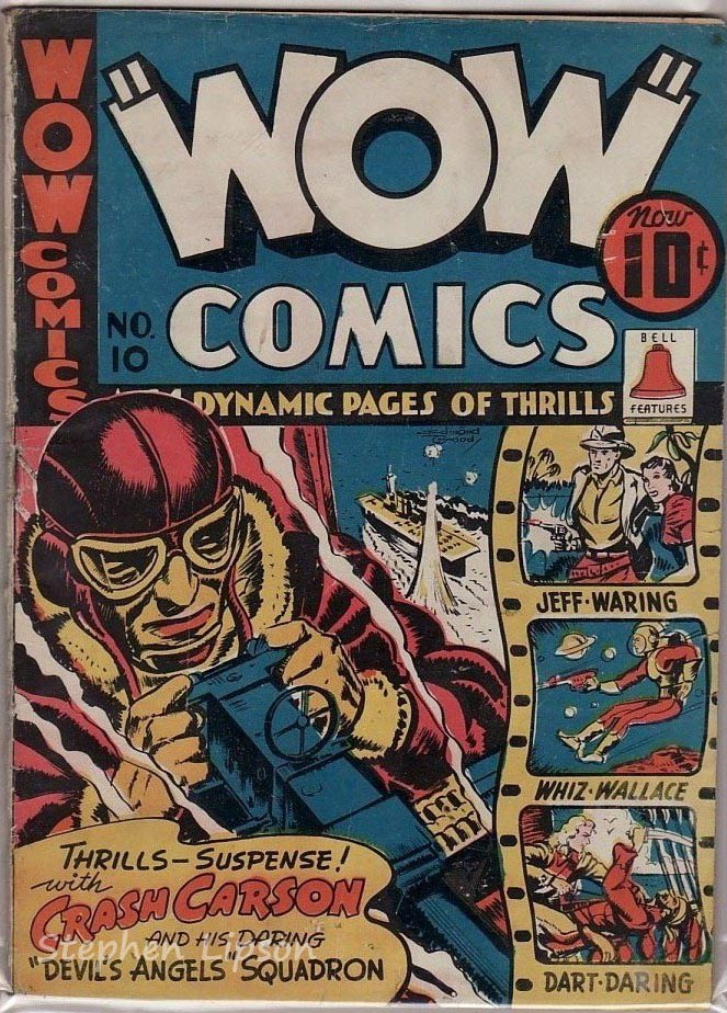 Bell Features WOW Comics #10