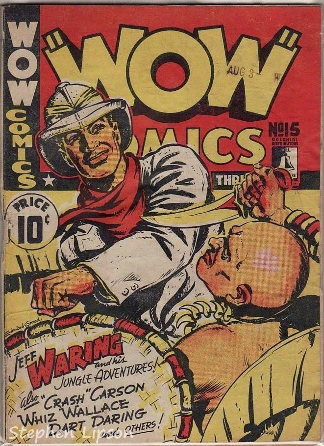 Bell Features WOW Comics #15