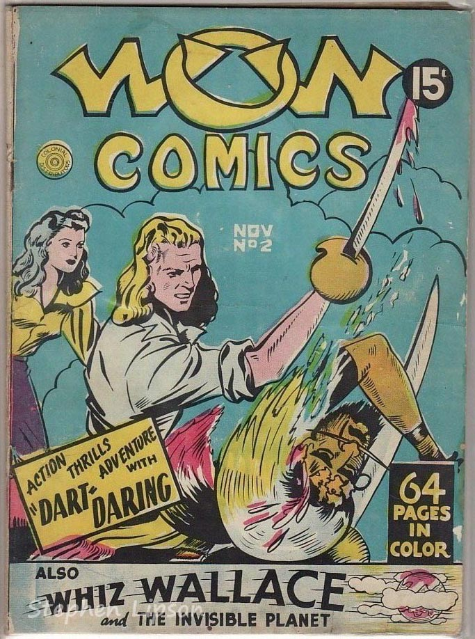 Bell Features WOW Comics #2