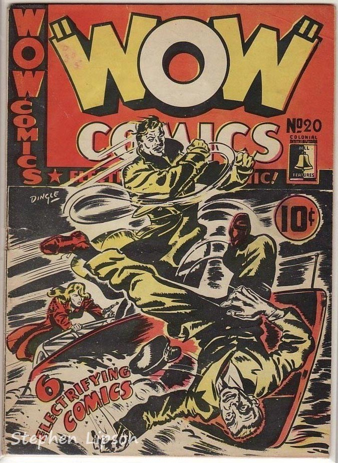 Bell Features WOW Comics #20
