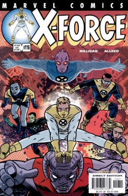 Origin and First Appearance, X-Statix, X-Force #116, Marvel Comics, 2001. Click for value